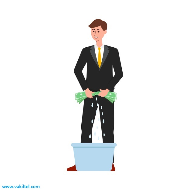 run a startup with money laundered  money